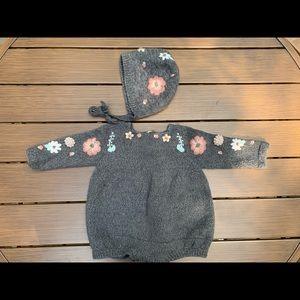 Shirley Bredal Knit Set 12/18m